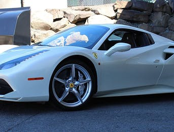 Ferrari 488 is now Fully wrapped with Suntek Ultra Paint Protecion and coated with Opti-Coat Pro