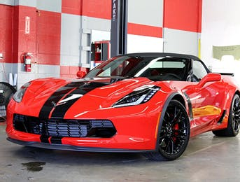 Chevrolet Z06 with full coverage nose and rockers using Suntek Ultra PPF
