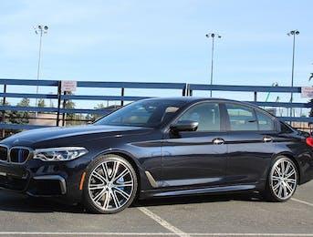 BMW M550i Full body wrap