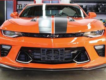 Chevrolet Camaro hot wheels addition protected with Clear paint protection and ceramic coated